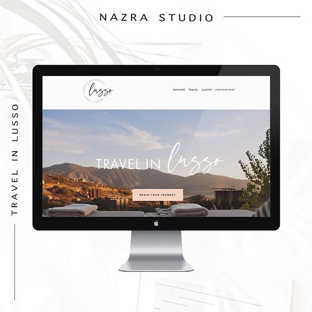 Another sneak peek! 😍 This travel agency needed a fresh new look to show off their getaway destinations! 🌴 It's almost a wrap and we can't wait to share!