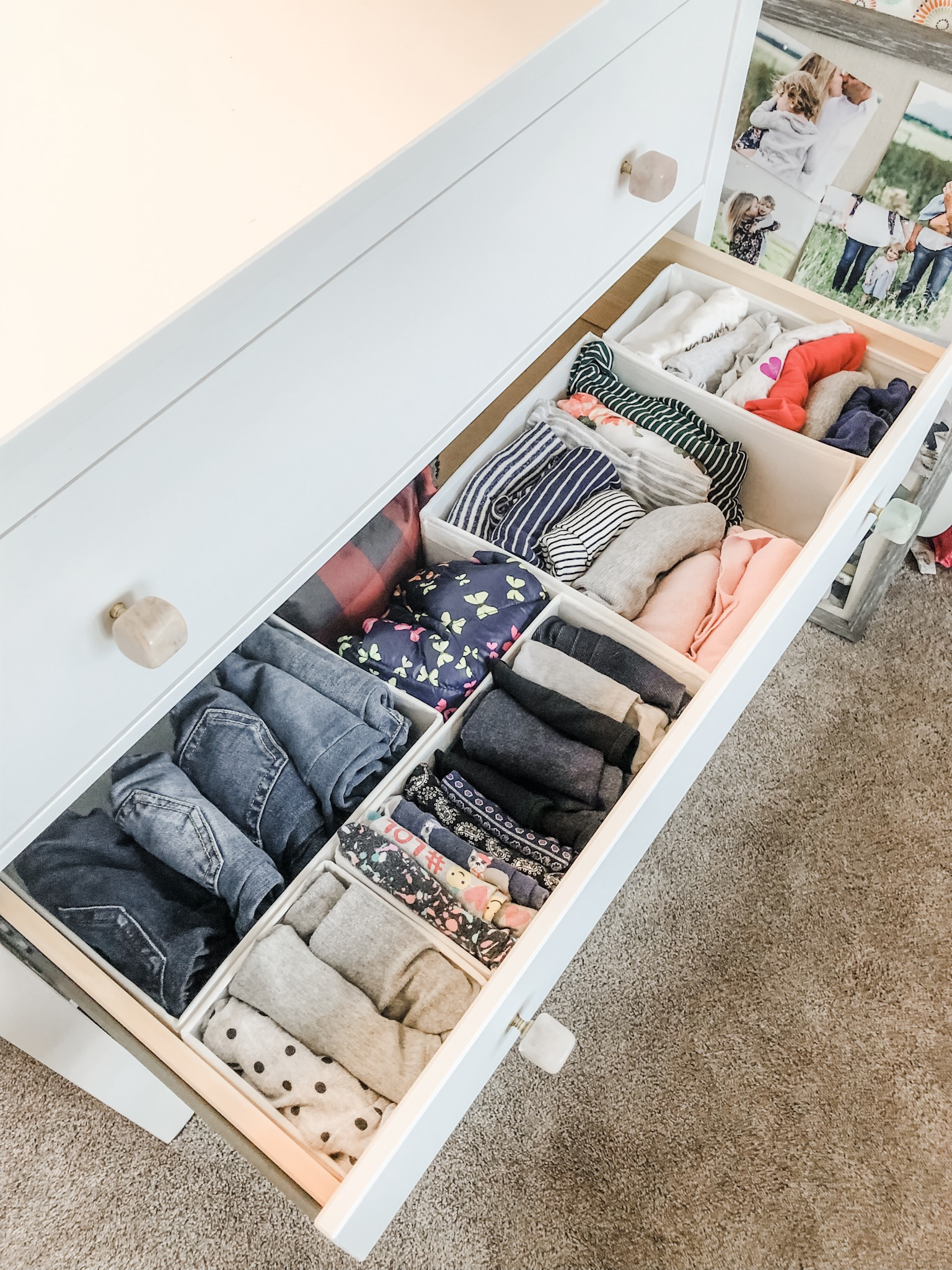 Riley's Drawers/How We Fold