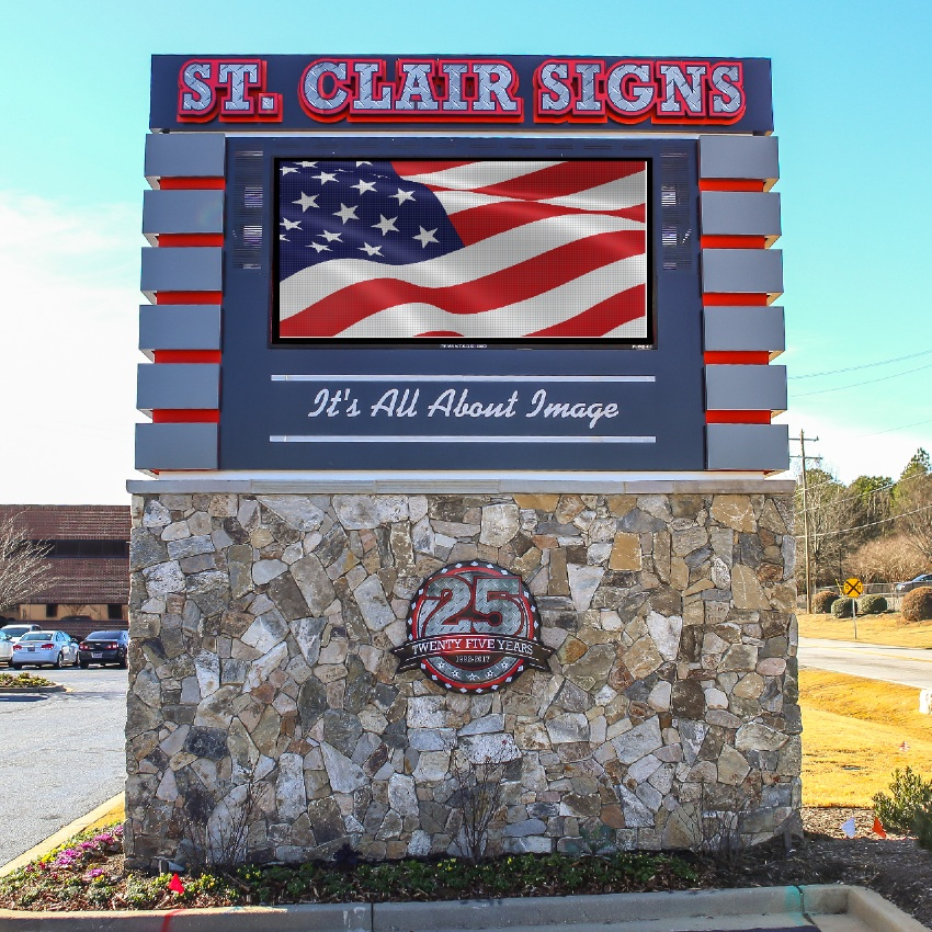 st clair monument