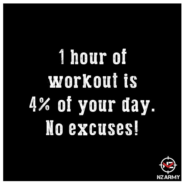 NO TIME? ⏰ MAKE TIME!⁠ ••⁠ An hour of workout is 4% of your day. We all get busy with one thing or another. Why not make WORKING OUT a part of that busy schedule! It will help boost your energy, improve your health, and benefit you in the long run. Let's go FIT FAM! NO EXCUSES.⁠ ••⁠ #NutritionZone #TeamNZ | #MotivationMonday⁠ .⁠ .⁠ .⁠ ⁠ #motivation #fitness #strong #training #weightloss #workout #muscle #inspire #inspiration #hustle #entrepreneur #exercise #fit #fitnessaddict #entrepreneurship #fun #health #lifestyle #beautiful #quotes #determination #fitnessmotivation #fitspo #goals #diet #gym #amazing