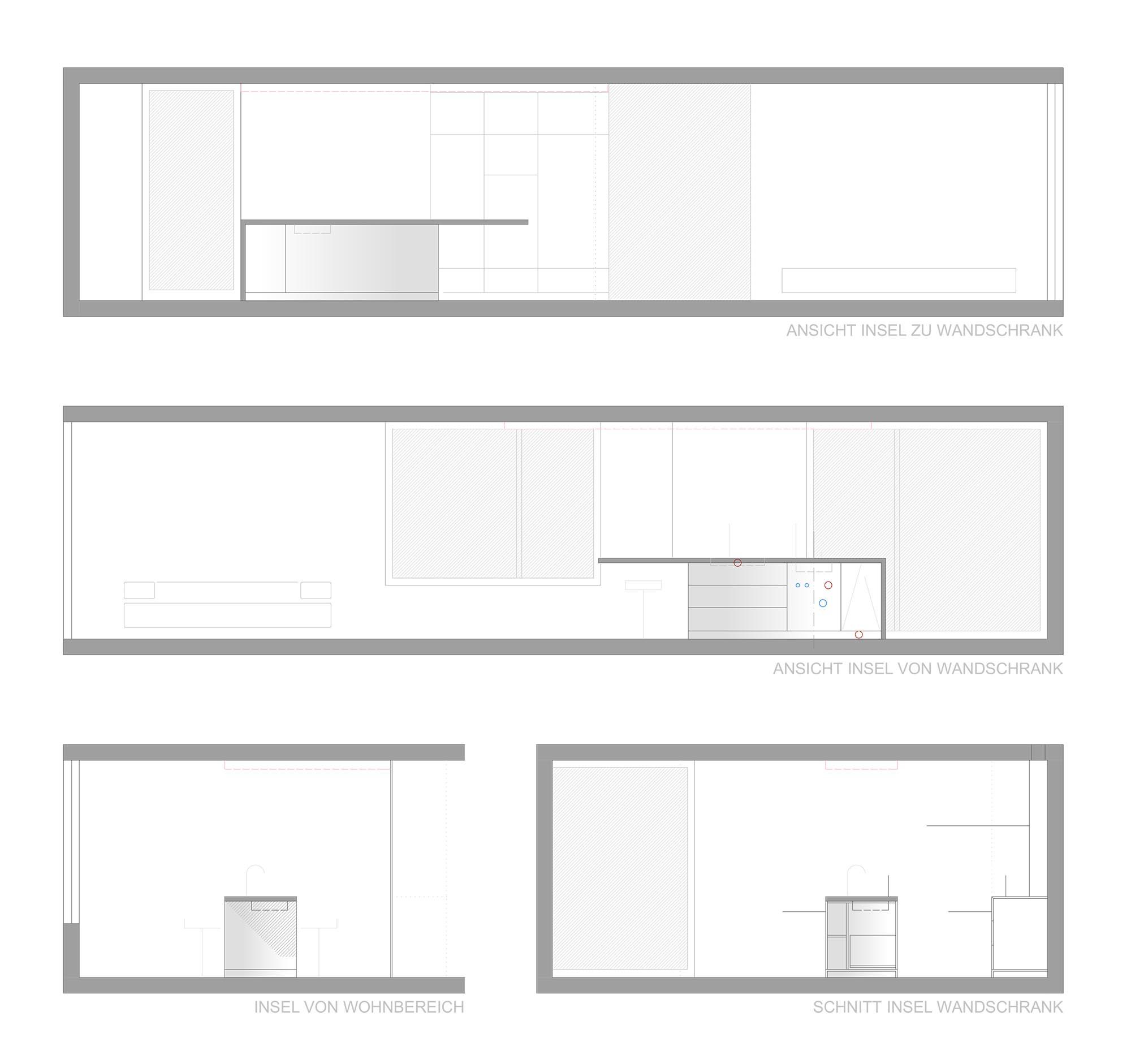 Inneneinrichtung Wohnhaus S Zürich