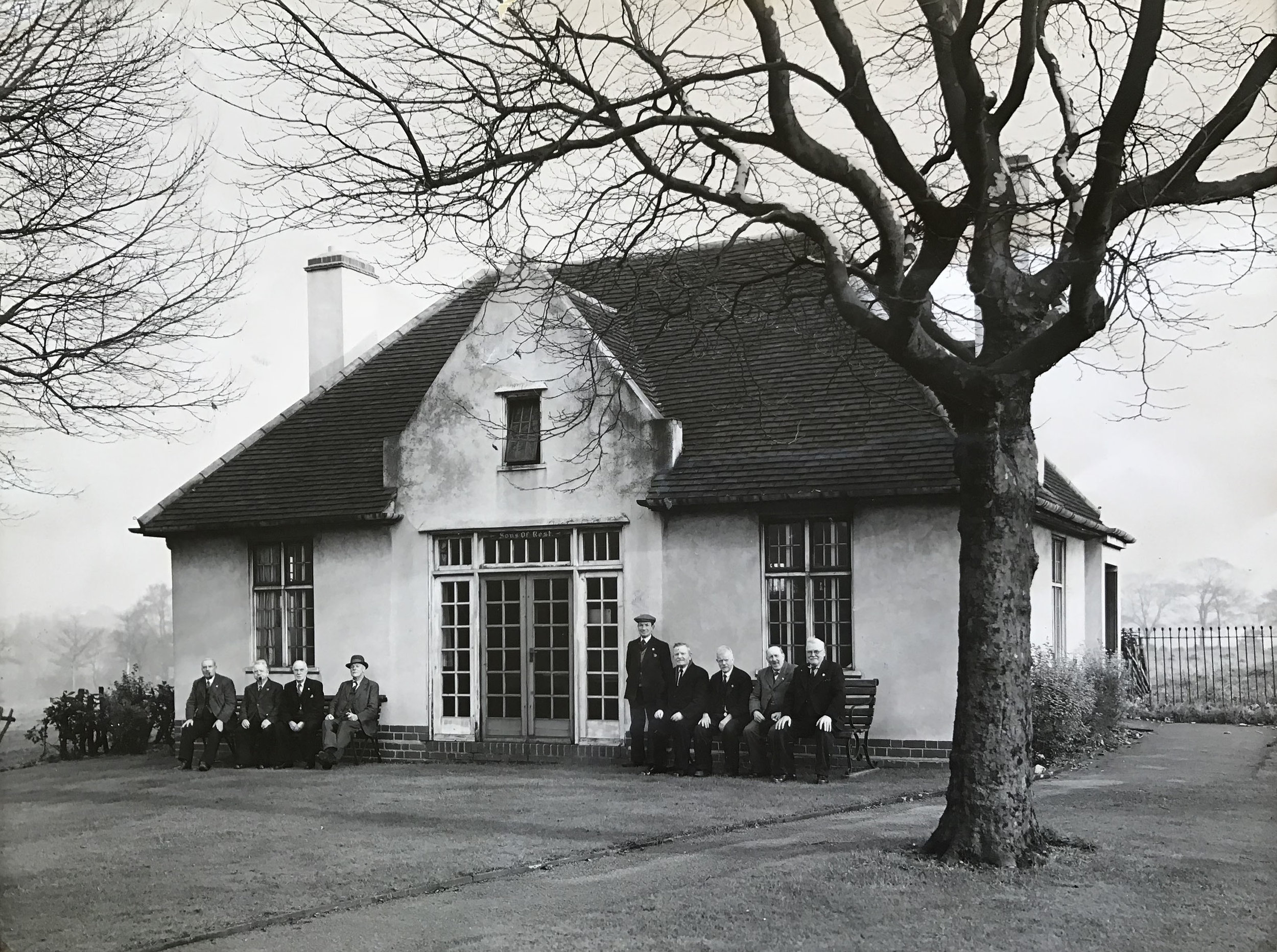 SONS OF REST BUILDING in Handsworth Park