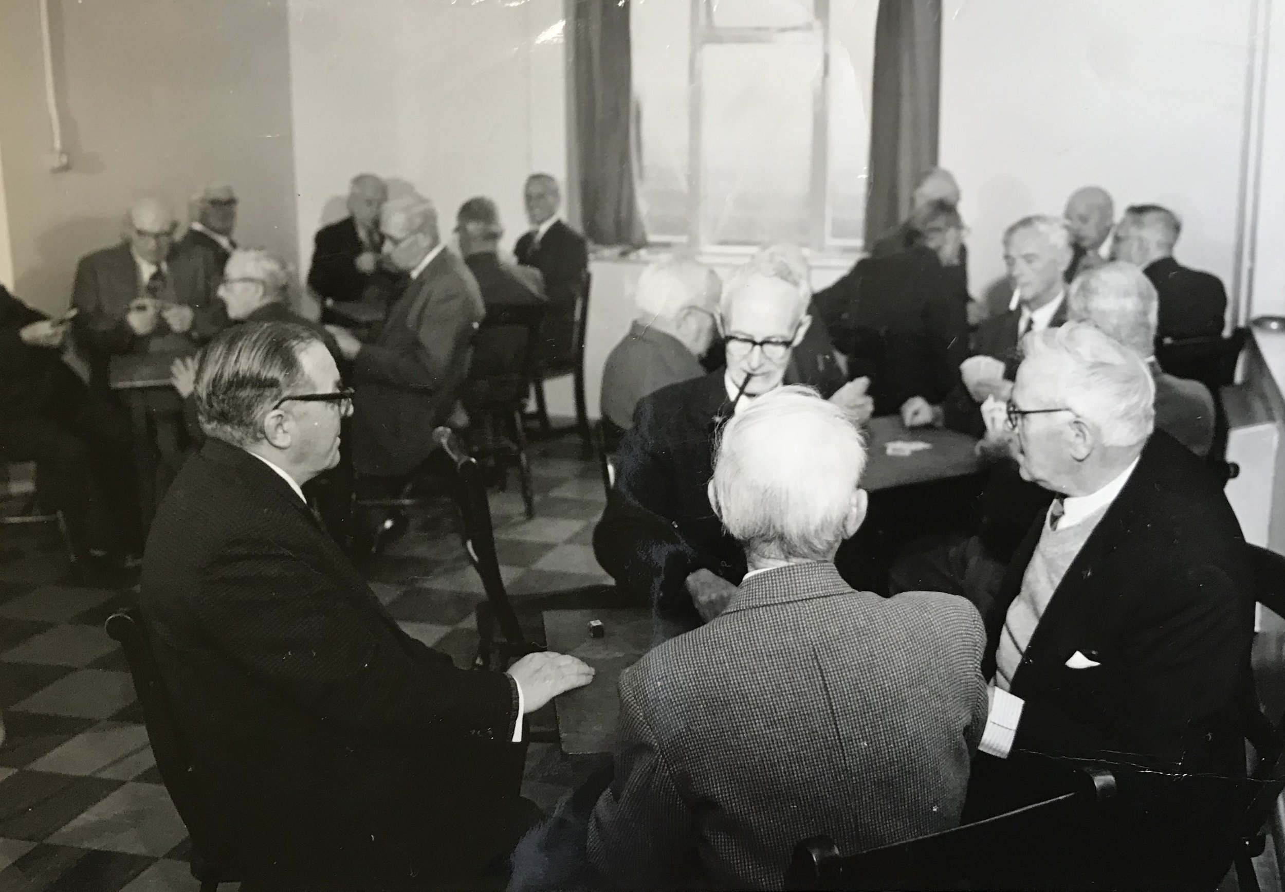 PLAYING CARDS IN THE SONS OF REST BUILDING