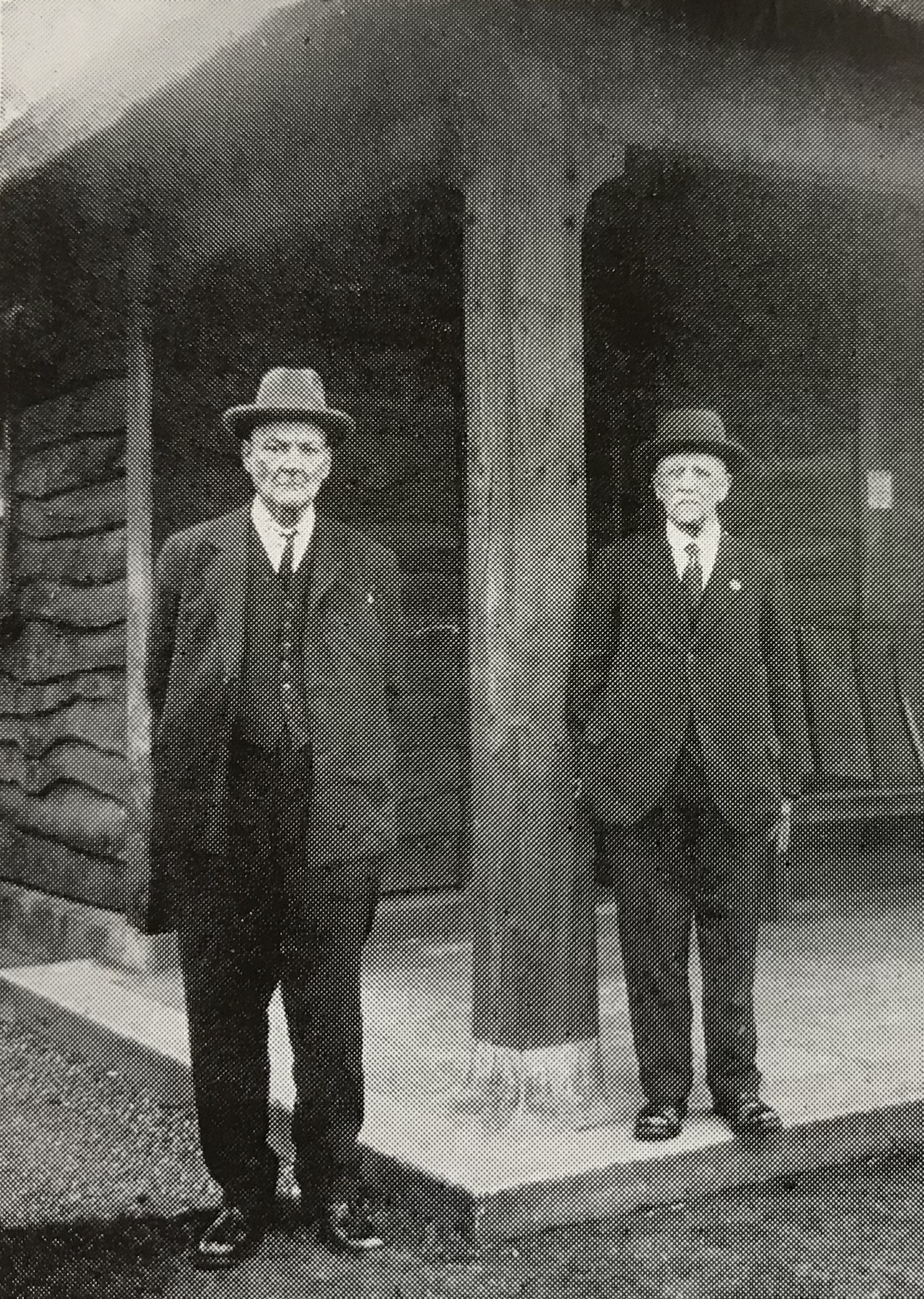 FOUNDING MEMBERS OF THE SOR MOVEMENT - LISTER MUFF AND  W J. OSTER