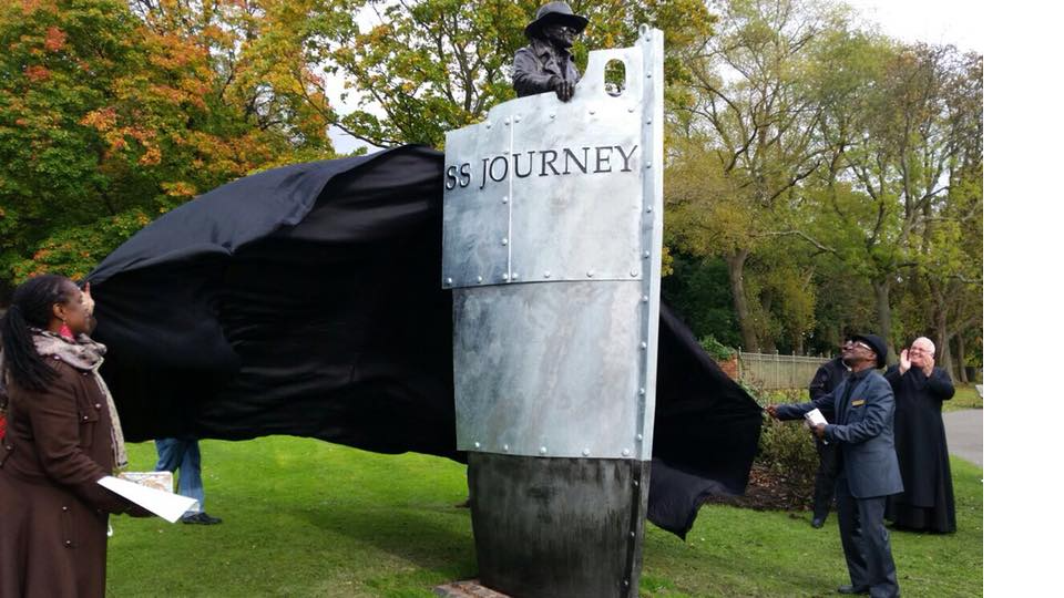 UNVEILING OF THE SS JOURNEY