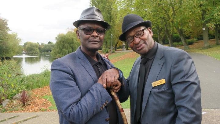 (SSJ) Vanley Burke and Hector Pinkney.JPG
