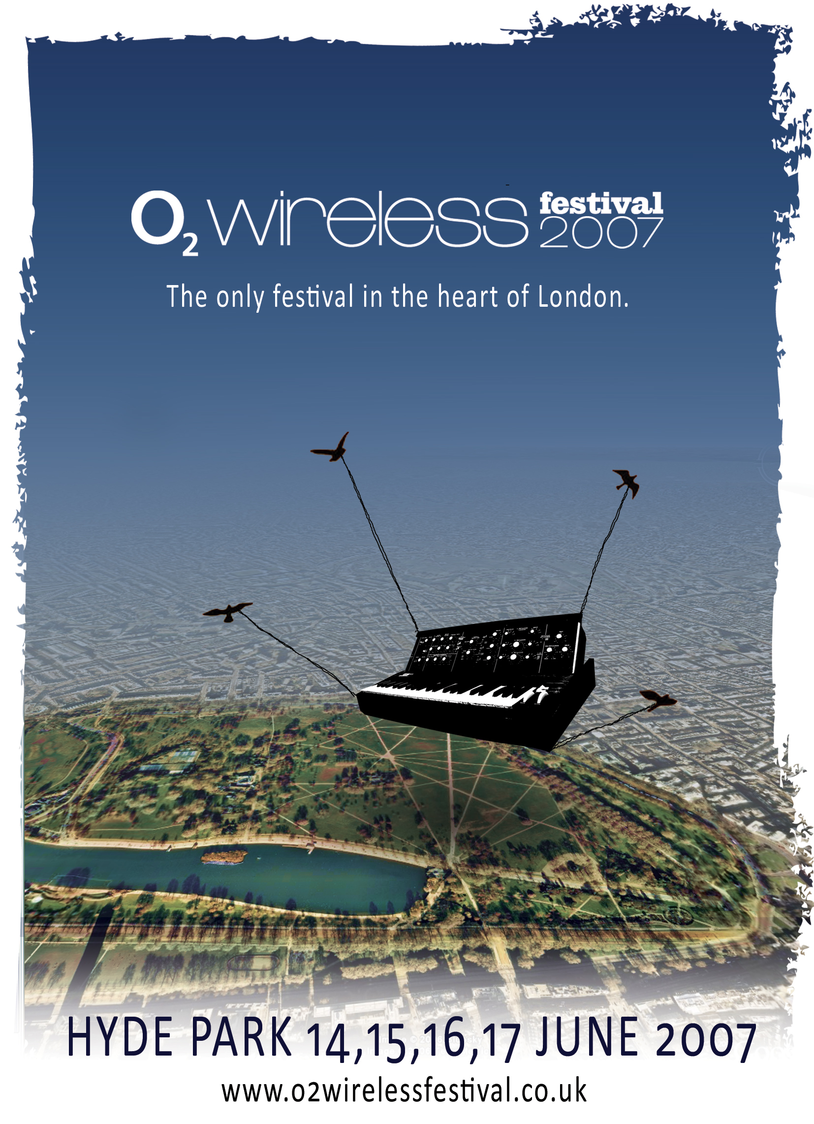 My unused design for the 2007 Wireless Festival