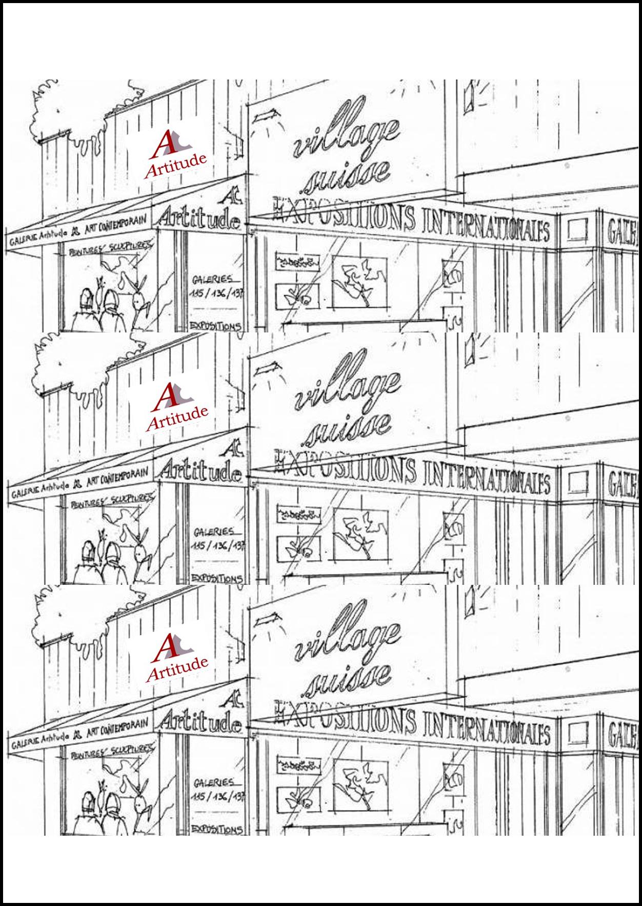 GALERIE ARTITUDE - PARIS VILLAGE SUISSE, FRANCEExpo: 24/05/2012 - 04/06/2012Vernissage: 26/05/2012 (16h00-19h00)