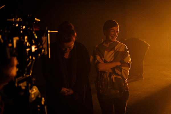 BTS on the set of Never Going To Beat You / London / November 2018