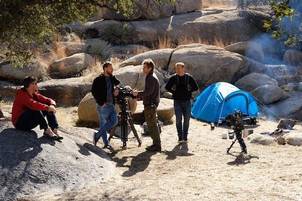 Travels With My Father 3 BTS: Nik, Romek, Kevin & Mark / Arizona / February 2019