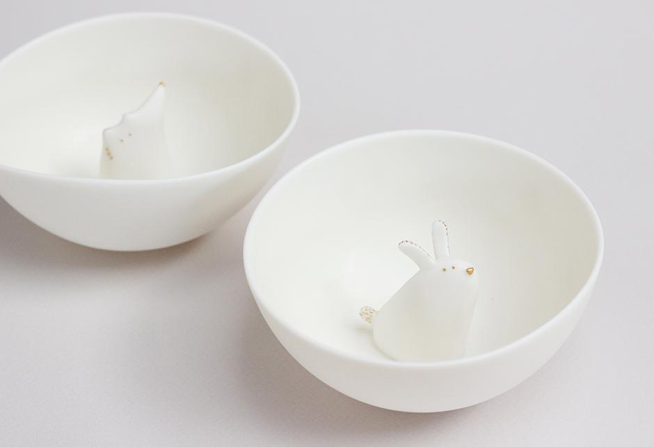 Porcelaines habitees renard et lapin - 940.jpg