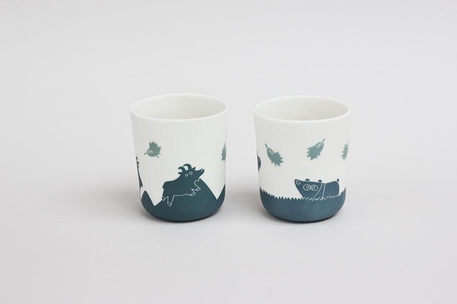 Deux gobelets bas Bouquetin et panda autre face - 940.jpg