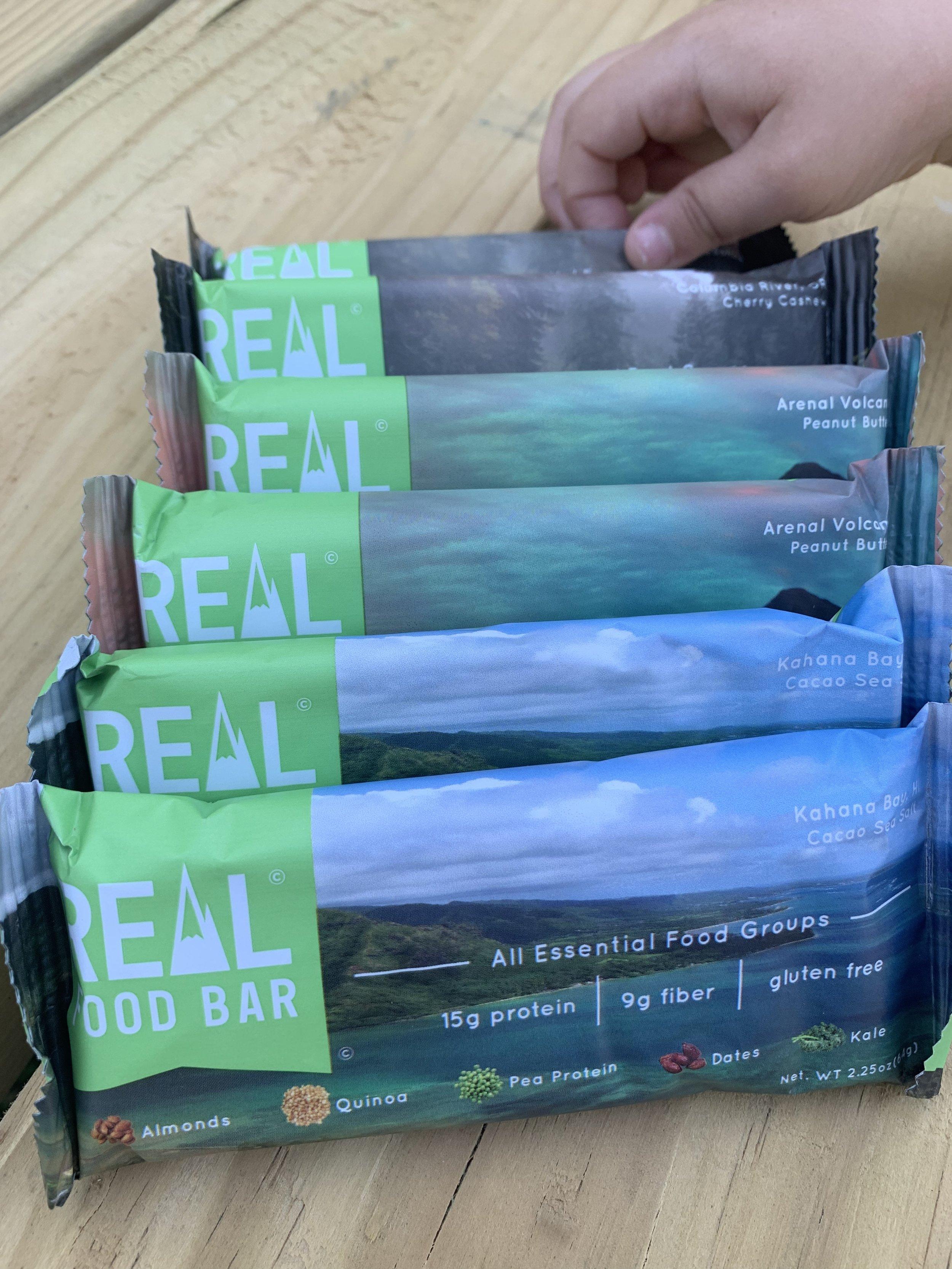 real food bar variety pack - realistic plant based mama - grand rapids mi