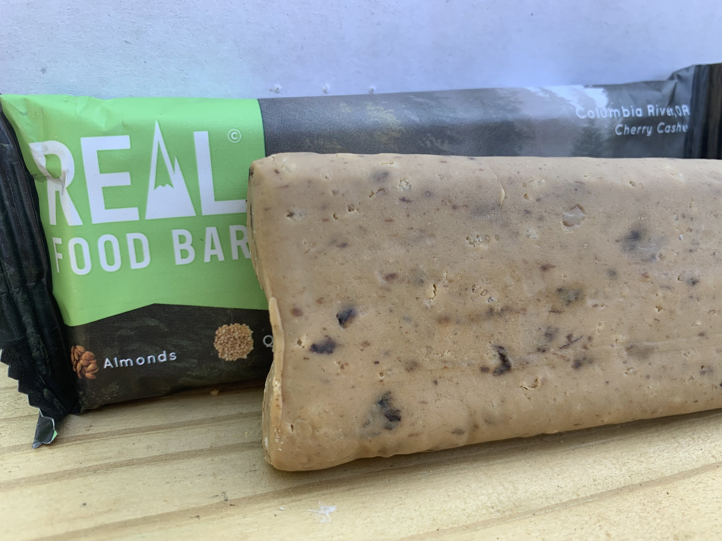 cherry cashew real food bar review by  realistic plant-based mama