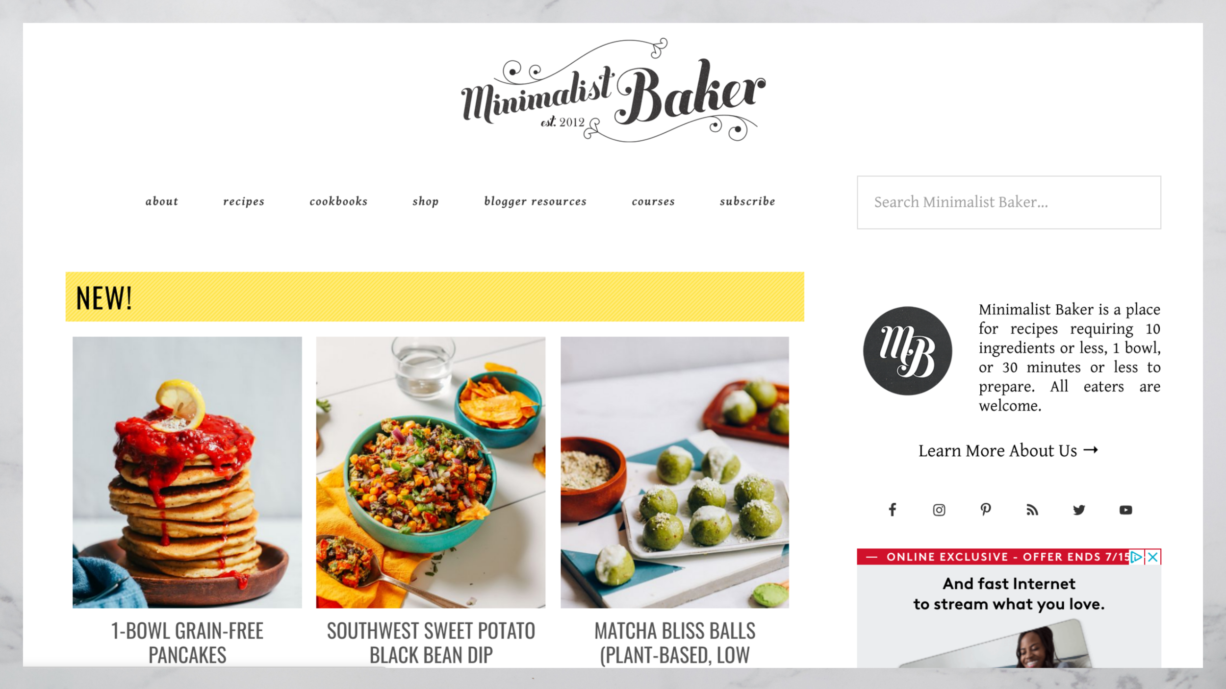 minimalistbaker.com blog.png