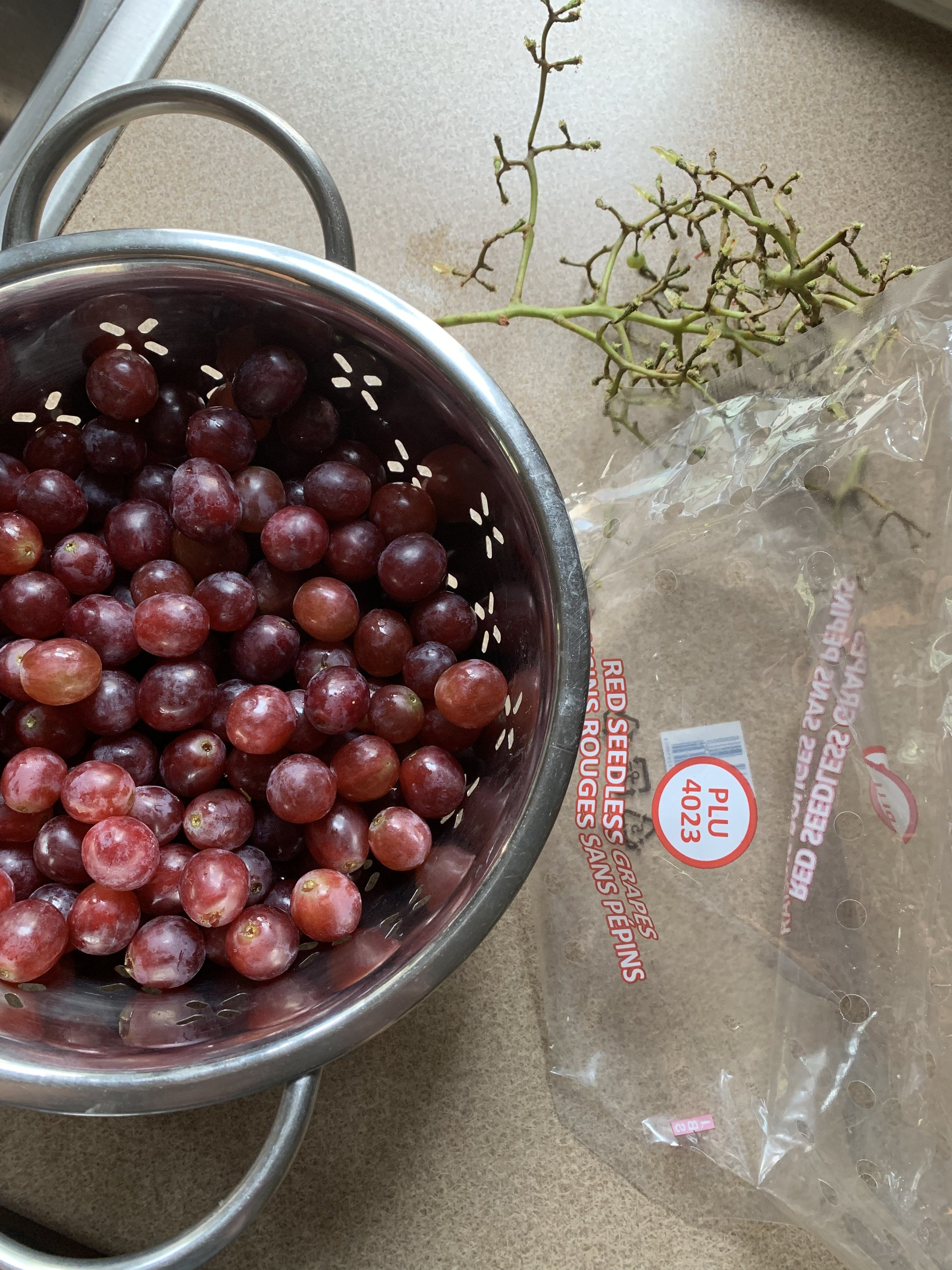 grapes on a plant-based diet