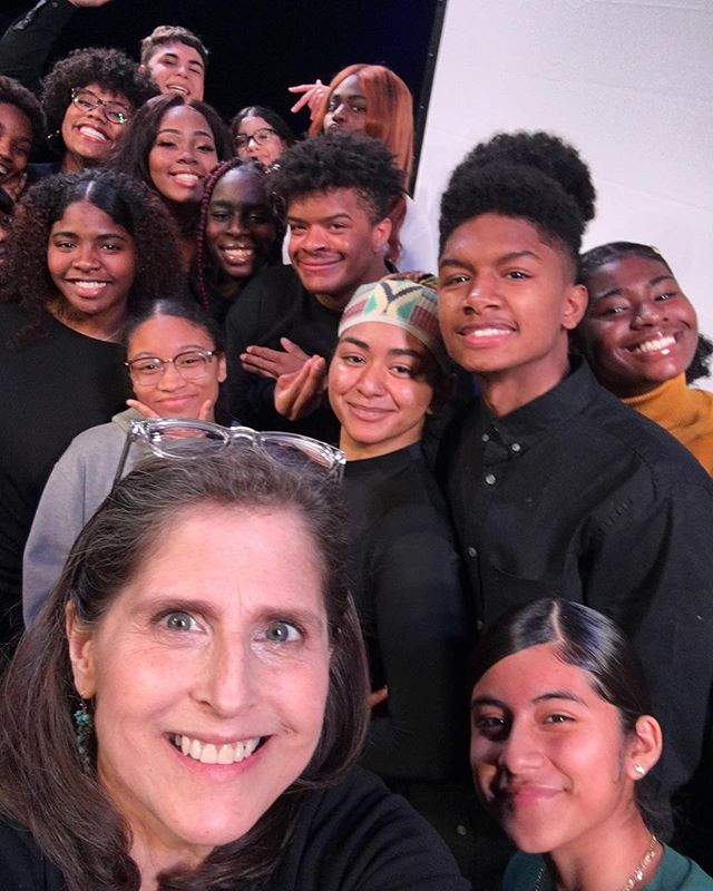 What a thrill it was to be an honored guest last night at the NYC August Wilson Monologue Competition! Meeting with some of LEAP's incredibly talented students and watching their performances was a treat. Can't wait to see these stars on stage again soon! 🎭✨
