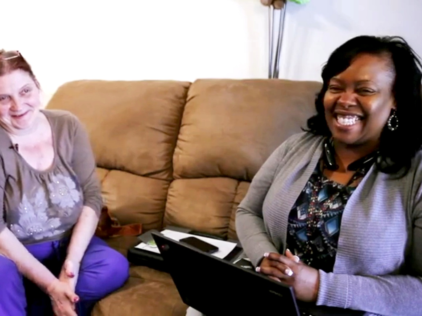 "Vonyee featured in a Community Health Worker (CHW) MVNA Video. ""Community Blueprint."""