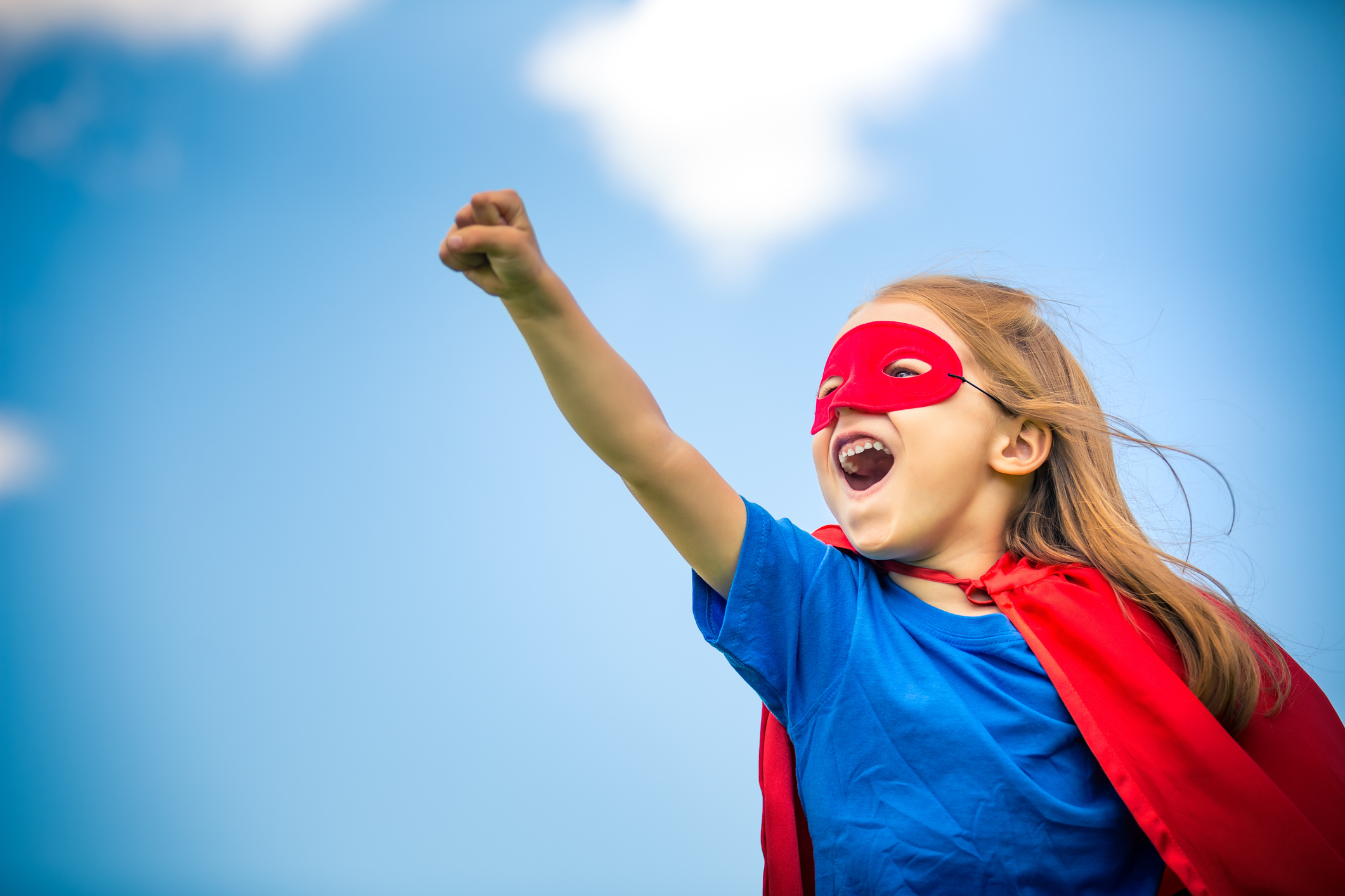 You don't need special powers to work here - - we have our own super heroes !
