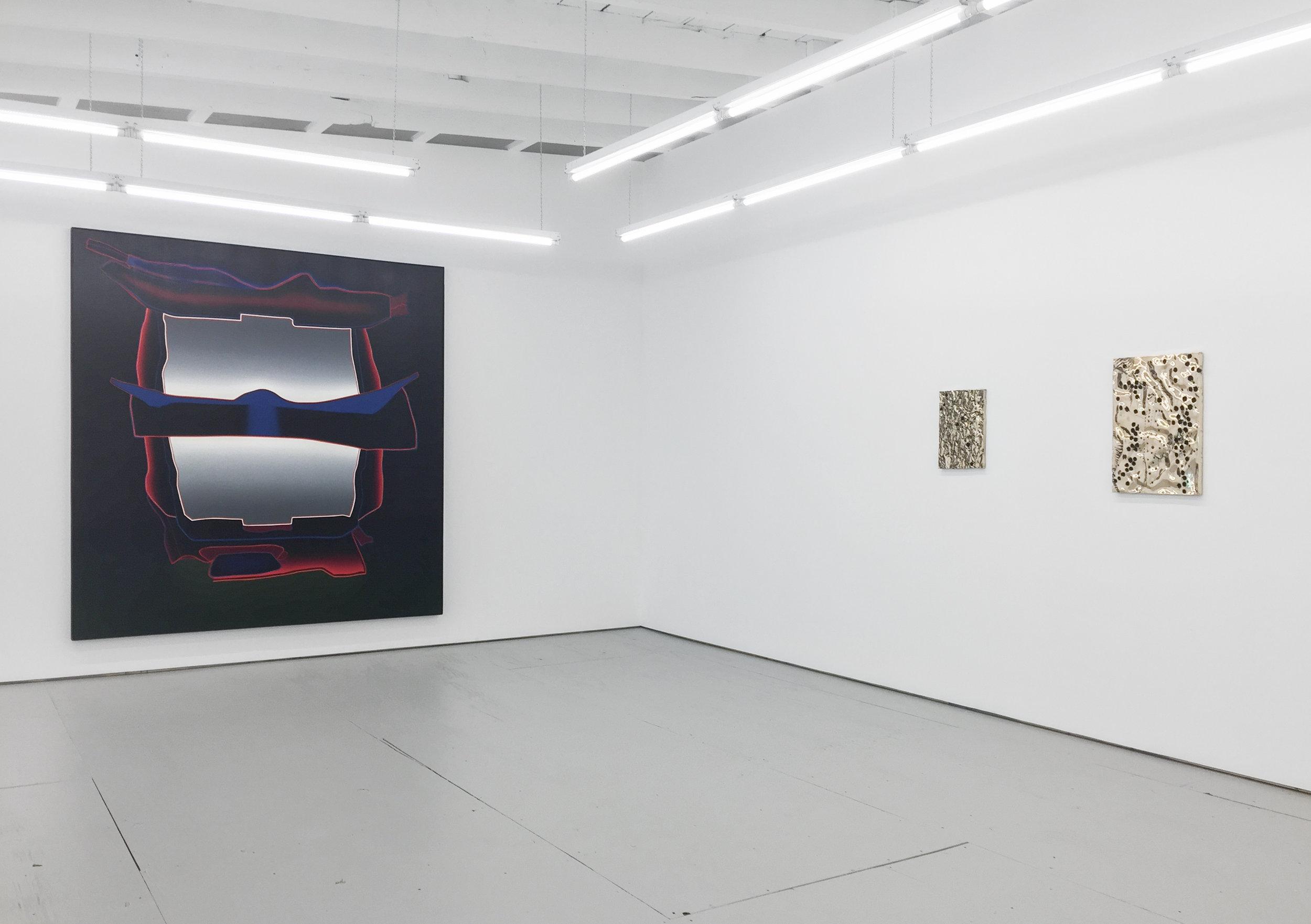 Installation view, Davina Semo and Deborah Remington, 2019.