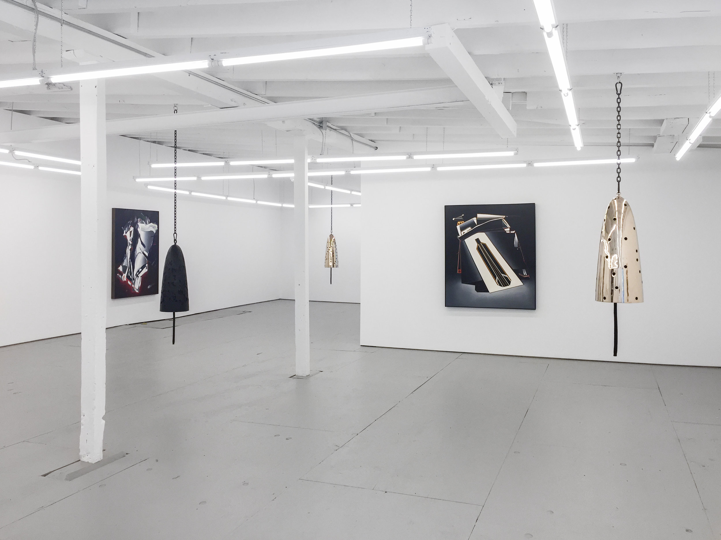 Installation view, Davina Semo and Deborah Remington, 2019.
