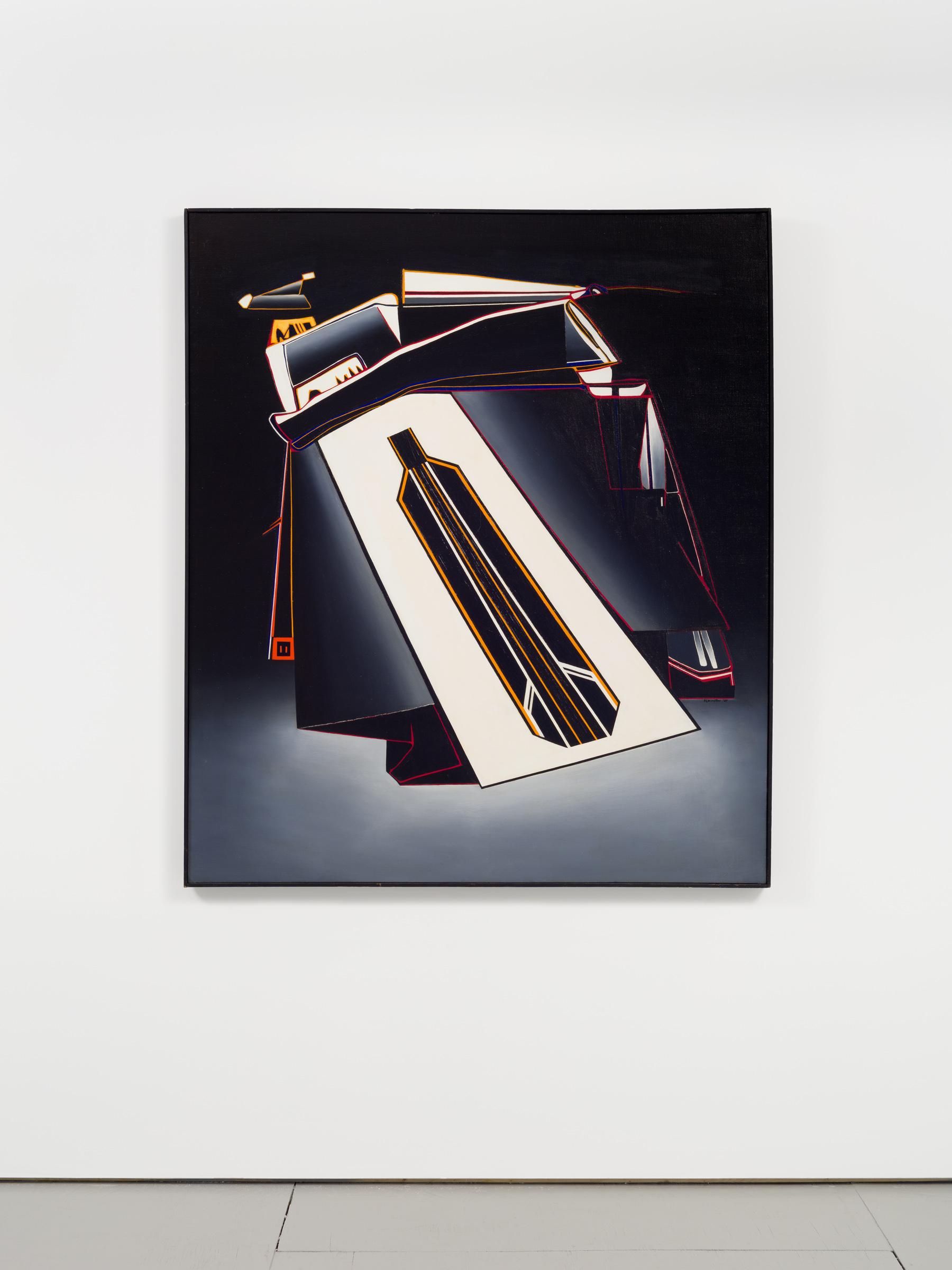 Deborah Remington   March,  1964 Oil on canvas 57 1/4 x 49 1/2 inches