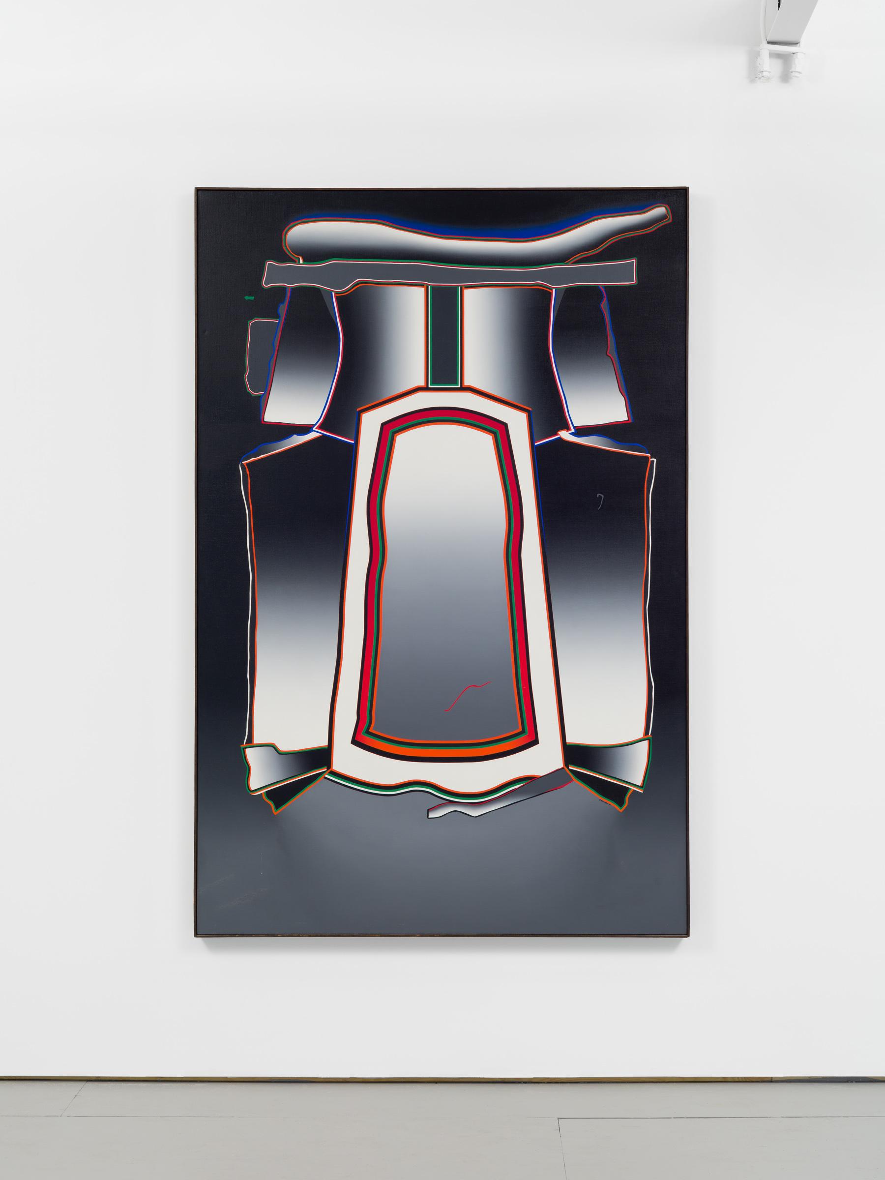 Deborah Remington   Sussex,  1976 Oil on canvas 75 1/2 x 49 1/2 inches