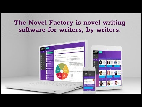 The Novel Factory - No more drowning in piles of paper notes or spending hours organizing digital folder structures. The Novel Factory offers clear obvious structures for noting down information about plot, characters, locations and everything else relating to your novel.