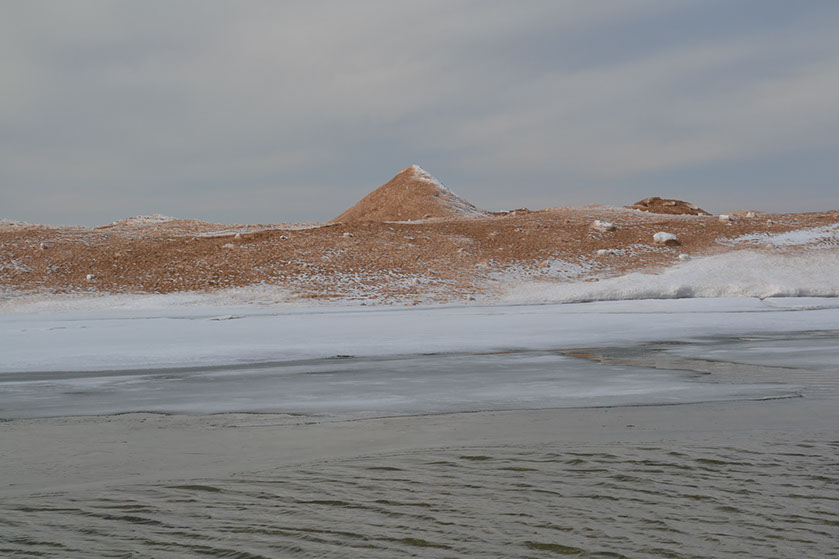 ICE MOUND, AS DESCRIBED IN ¨WINTER'S BLOOM¨