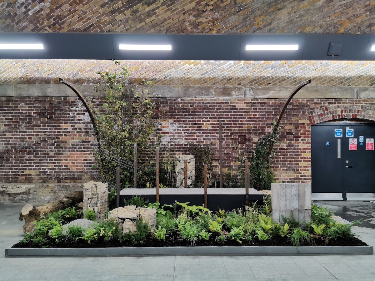 New Forms Garden at London Bridge Station - in situ until the end of September 2019