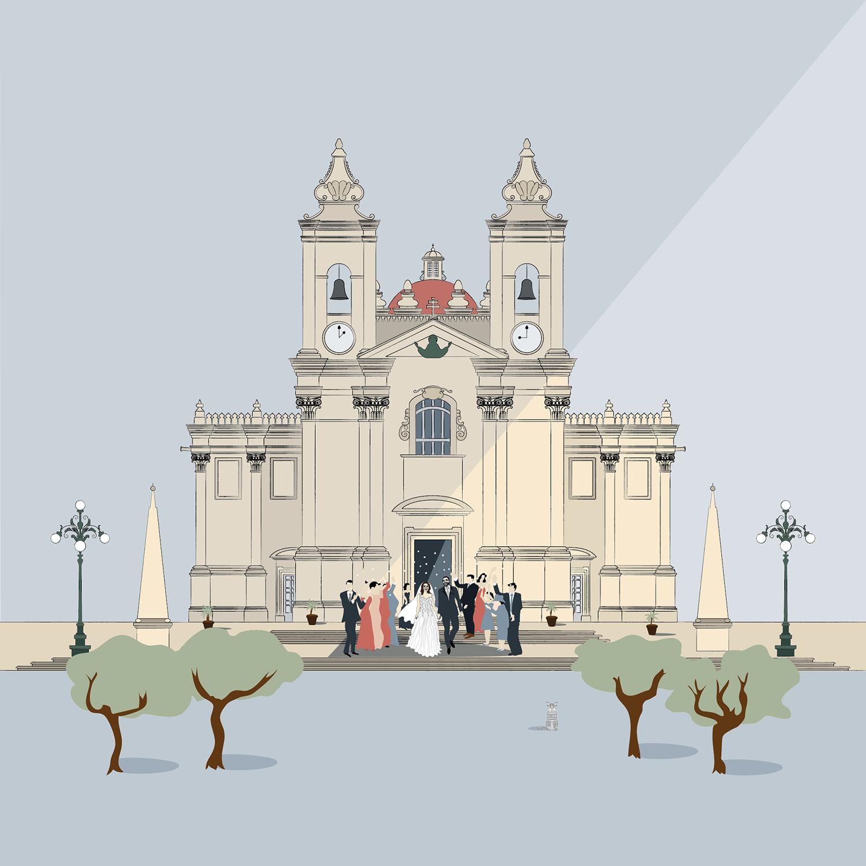 Wedding Bells, Lija Church