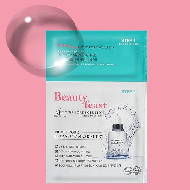 Who is taking this long weekend to catch up on sleep? Optimize your beauty sleep with our restoring product, Beautyfeast 2Step Pore Solution aids in replenishing and rejuvinating your skin, leaving you feeling radiant and beautiful!  Enjoy free-shipping on our website ✔️ #beautyfeast#2stpeporesolution#sheetmask#facialmask#hydration#cosmetic#makeup#blogger#beauty