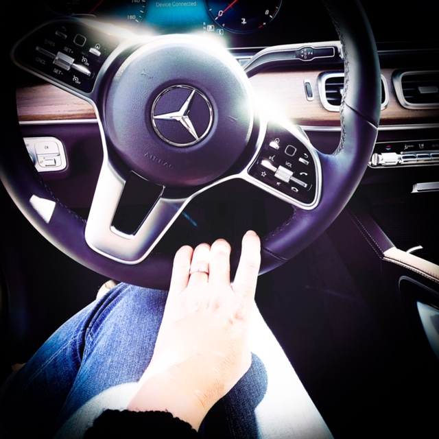 My dream sequence coming true - I recently checked out the latest Mercedes luxury vehicle at Mercedes-Benz of Chicopee (MA).