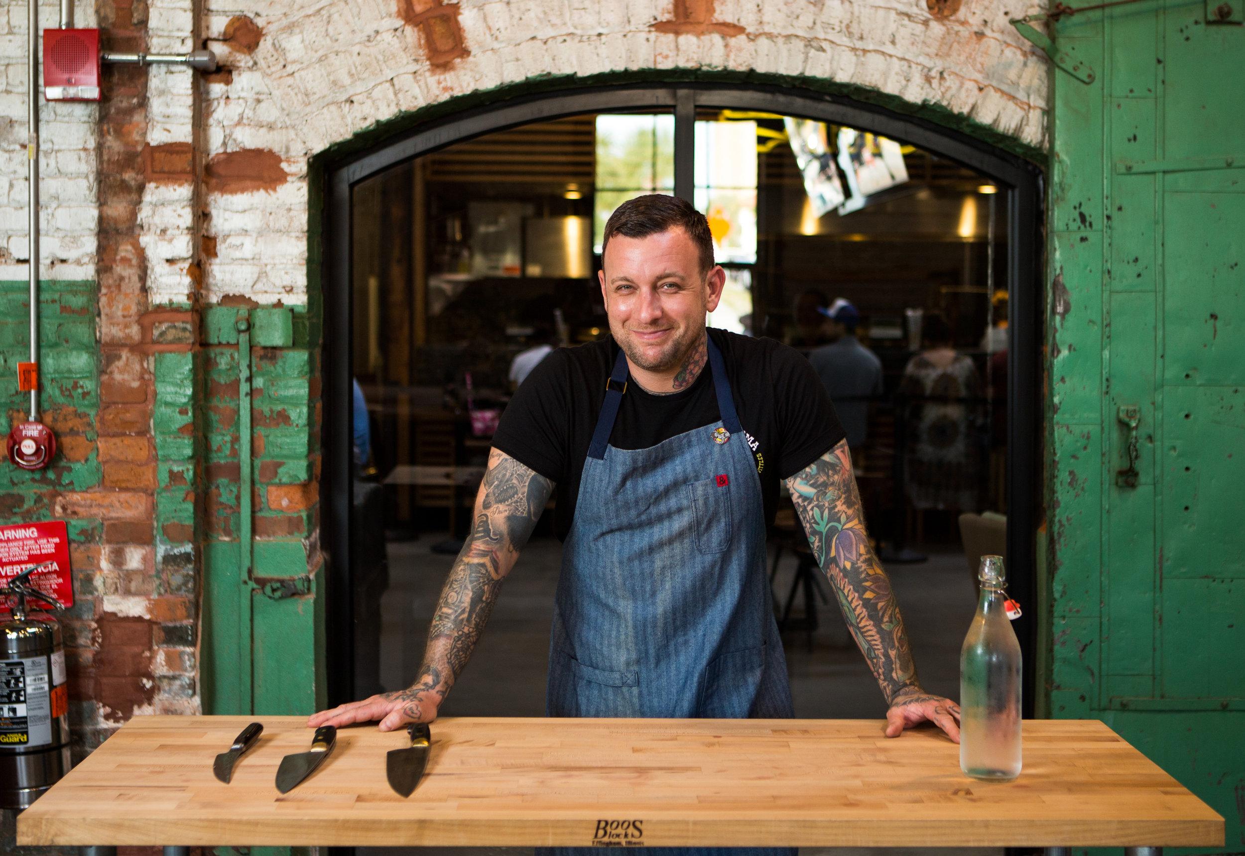 Chef / Owner Shaun Noonan