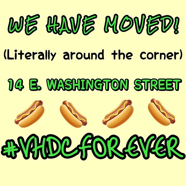 If you don't know, well now you know! Since y'all keep us so busy we needed a bigger spot to park our cart, and our line! Thank you for all your love and support, oh and tell a friend that we moved too! #VHDCFOREVER