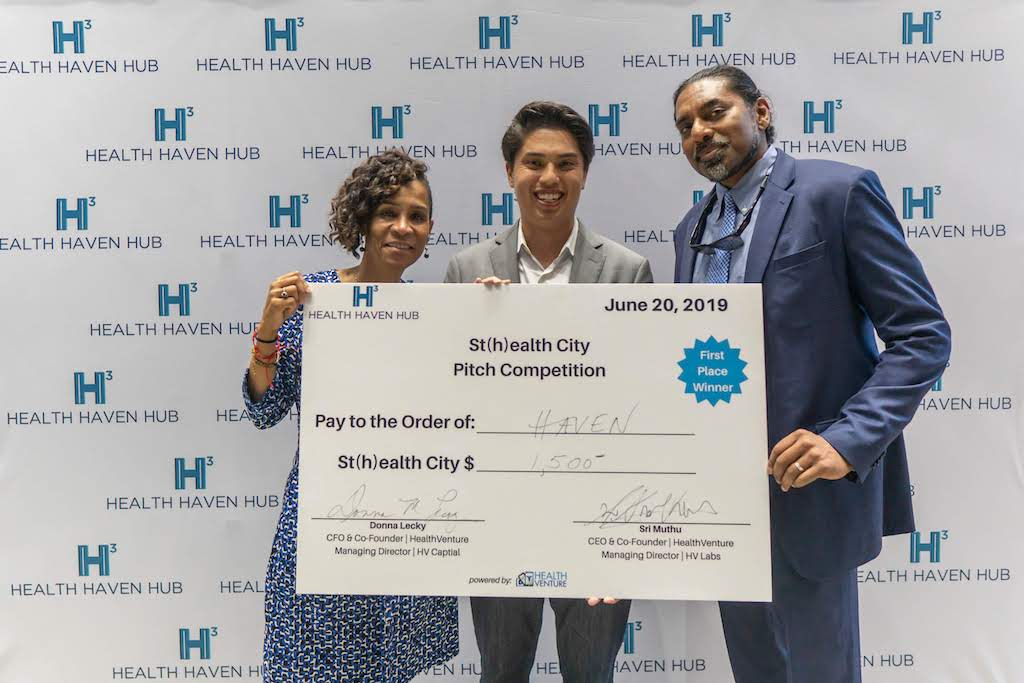 Ben Pugh, CEO & Founder of Haven Inc. - HealthVenture Prize Winner