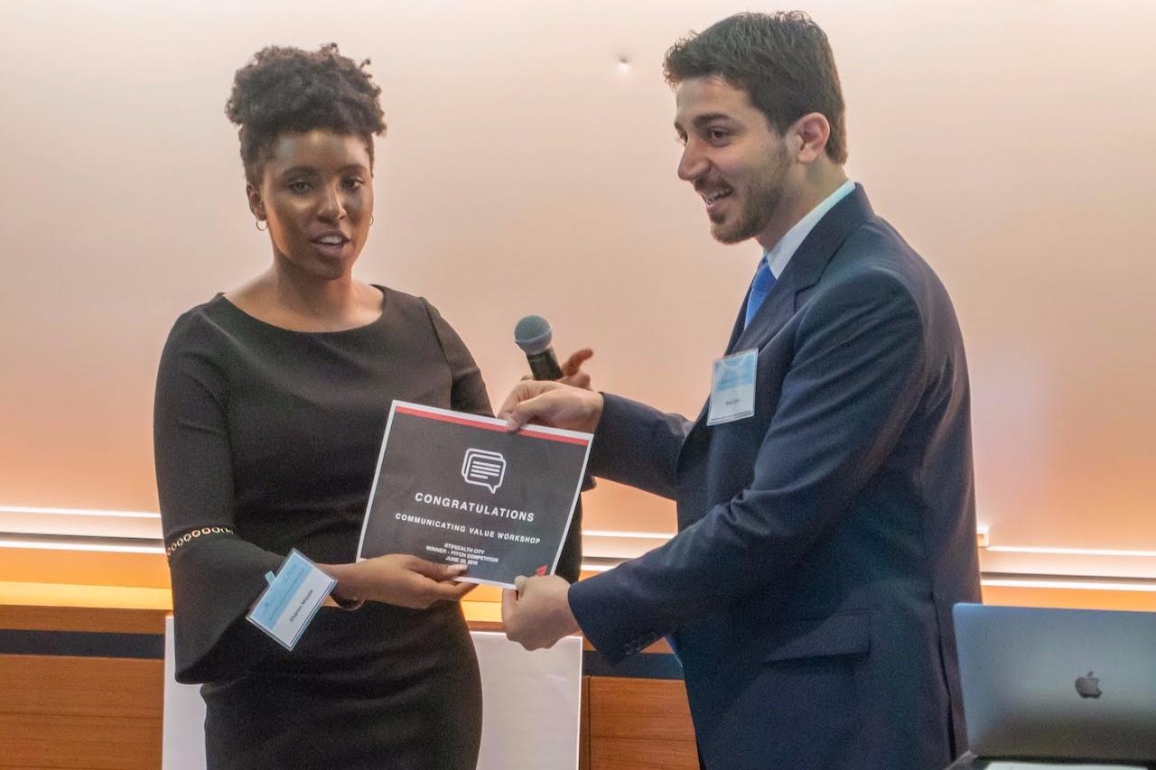 Reza Amin, CEO & Founder of QR Fertile - RedRock Prize Winner