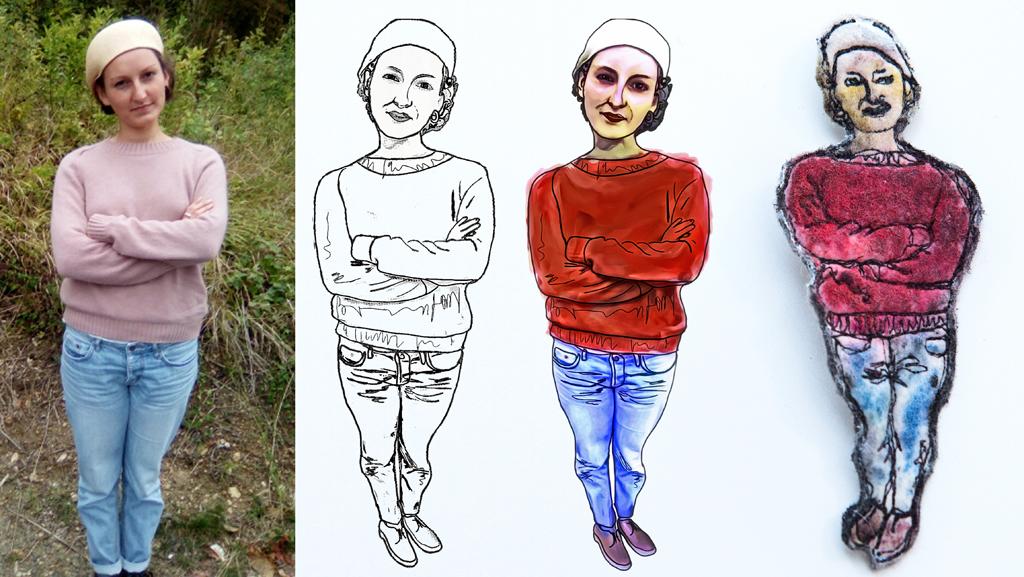 custom-portrait-brooch-felt-art-ariane-mariane