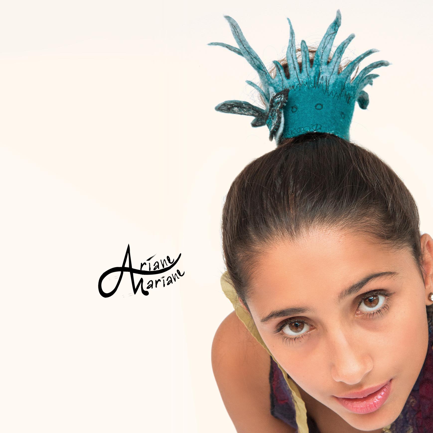A funky hair accessory