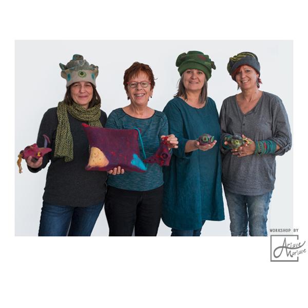 Felt Art Workshop:  Hats & bags