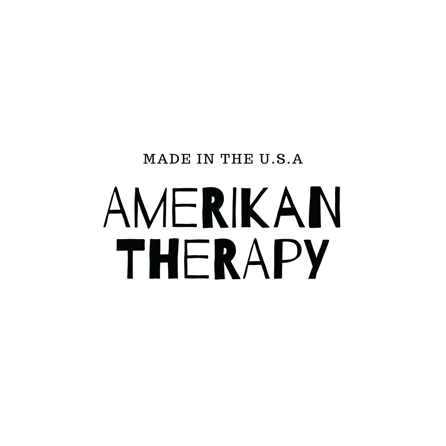 Amerikan Therapy Logo Black (PNG Format - Transparent Background).png