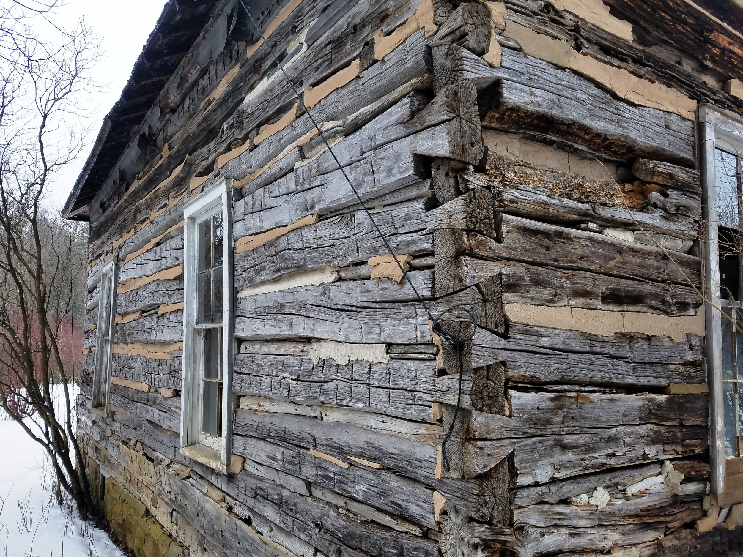 In the late 1850's a French Fur Trader built this log home along the  Wisconsin River and raised his family of five.  This structure was  disassembled and numbered log by log.  Now, it is rebuilt into an arts  and crafts center as part of a day care operation located in Rice Lake,  WI