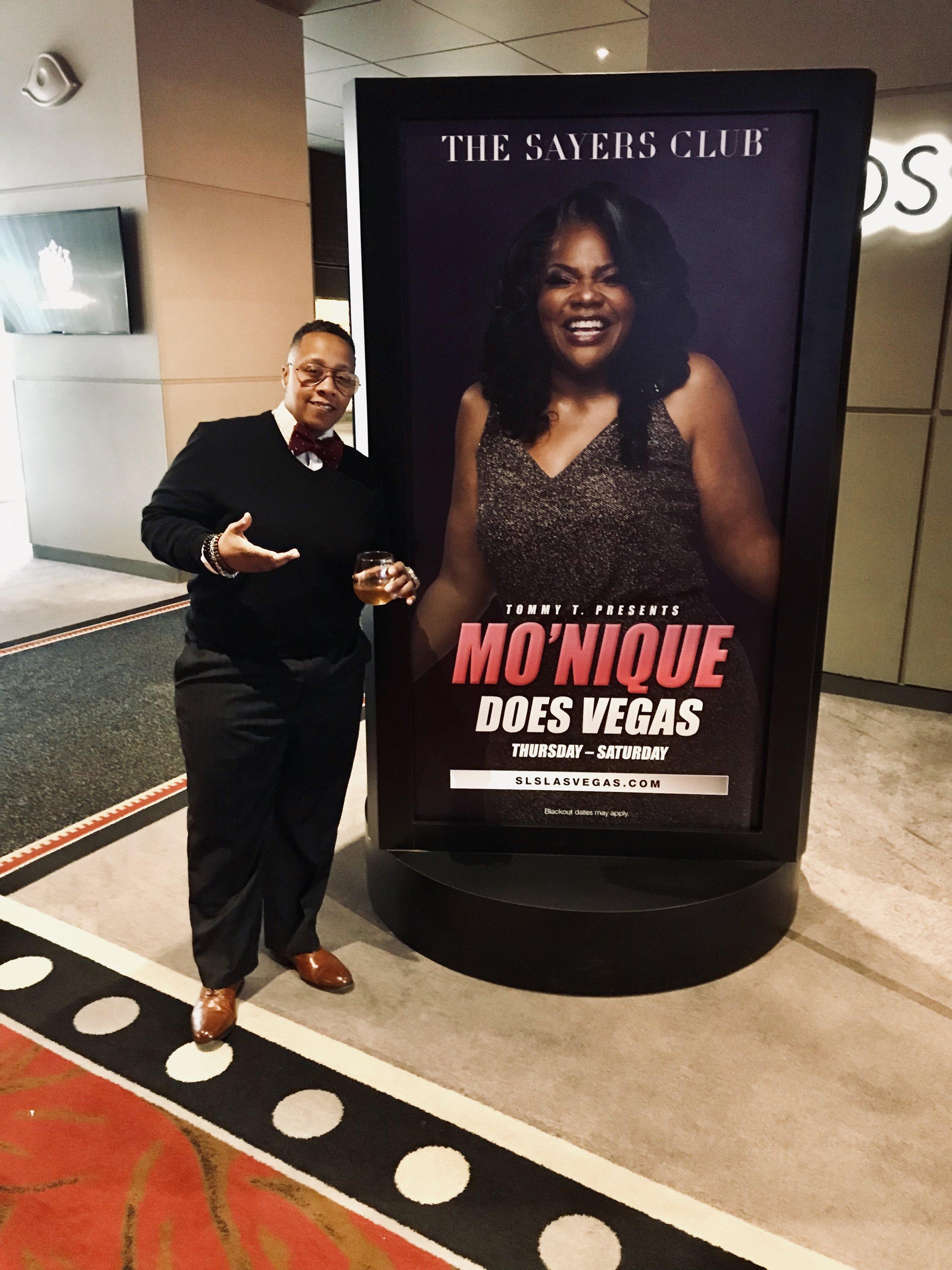 SLS Sayers Club Las Vegas NV Mo'Nique