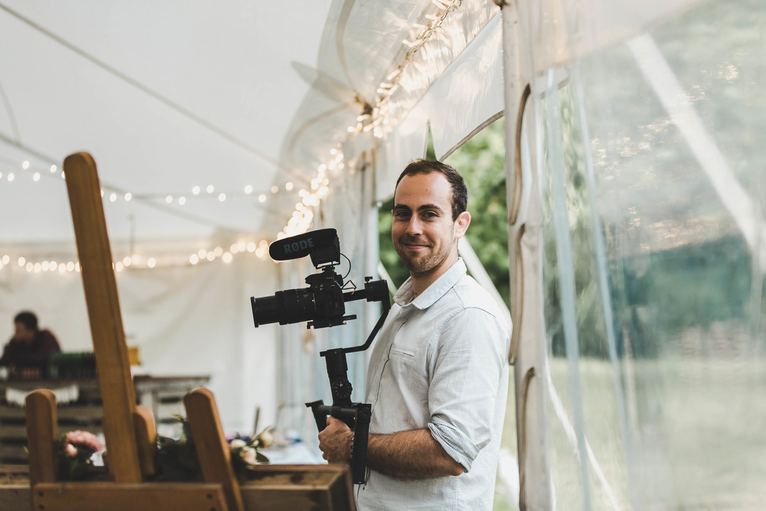 respectful approach - My priority is you and your guests, not the film. I'll do everything I can to ensure your wedding day is an absolute blast. A great film naturally transpires from there.