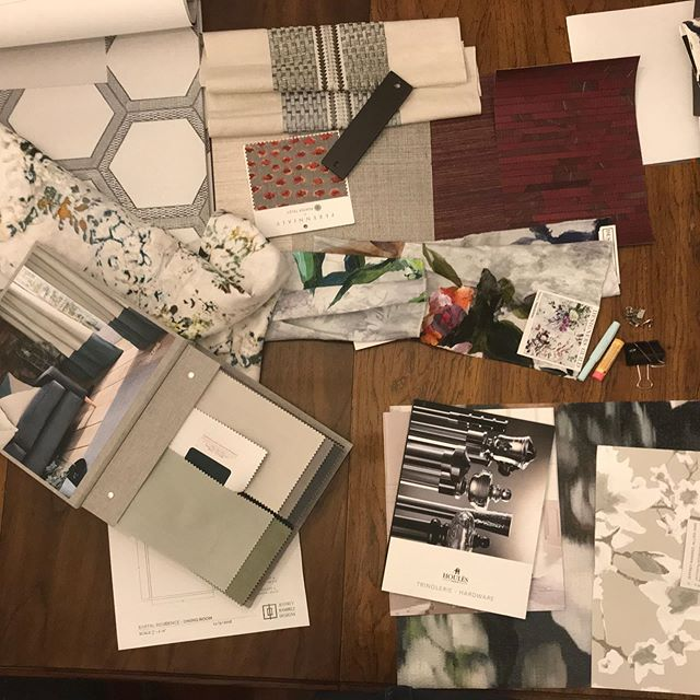 It's Monday! My office looks like I had an explosion of fabrics, wallpaper samples, and catalogs from some of my favorites suppliers. . . . . . #maniacmondays #jeffreyramirezdesigns  #jeffreyramirez #interiordesigner #interiordesignersofinsta #interiordesignerslife #interiordesignercincinnati #homedecor #interiordesign #design #interior #architecture #home #decor #interiors #homedesign #furniture #luxury #designer #inspiration #interiordecor #interiorstyling #handmade #highendinteriors #highendinteriordesign #livingroom  #kitchendesign