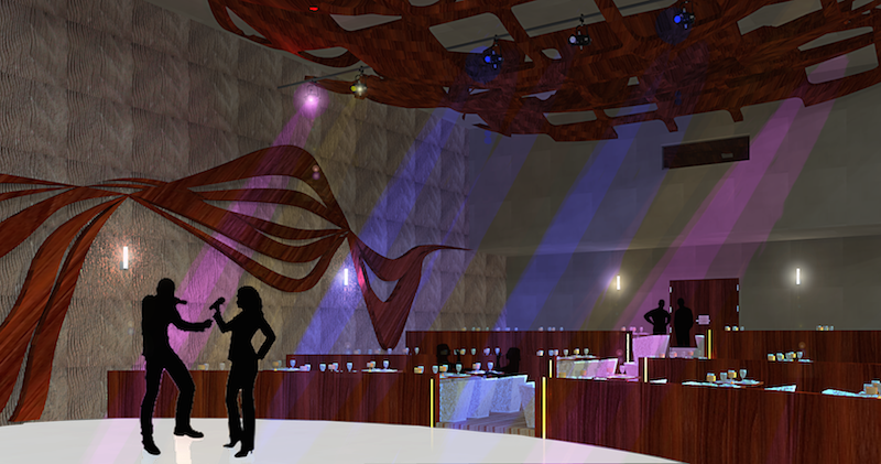 TUCSON SCHOOL OF FINE ARTS - DINE-IN THEATER - DESIGN CONCEPT