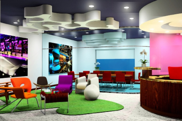 TECH COMPANY HEADQUARTERS INTERIOR DESIGN CONCEPT