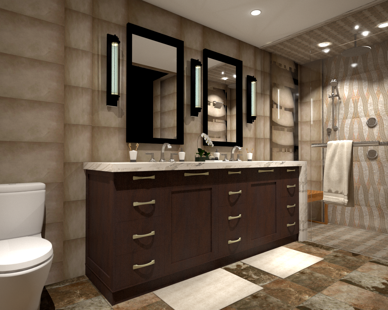 ART & CRAFT INSPIRED MASTER SUITE DESIGN PRESENTATION