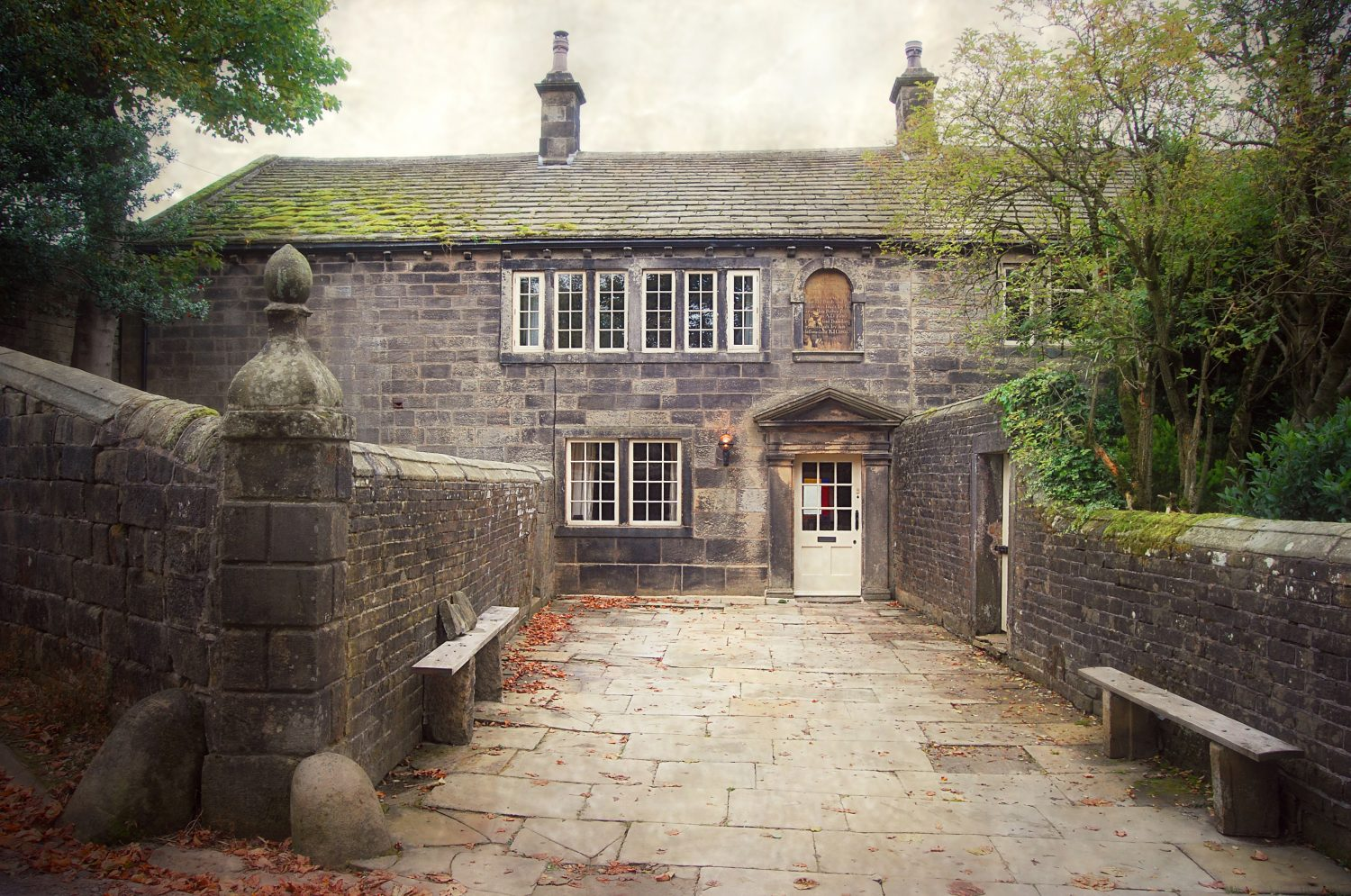 Ponden Hall - Wuthering Heights House - West Yorkshire England