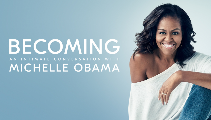 Becoming: An Intimate Conversation with Michelle Obama at Scotiabank Arena